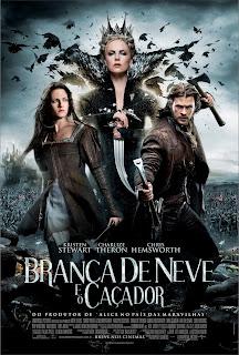 Pôster/capa/cartaz nacional de BRANCA DE NEVE E O CAÇADOR (Snow White and the Huntsman)