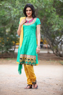 Actress Sakshi Choudary Latest Picture Gallery in Salwar Kameez 0053