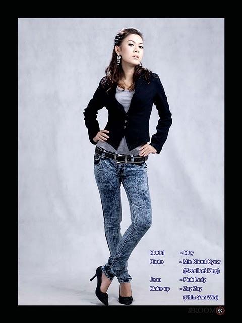 May,myanmar model