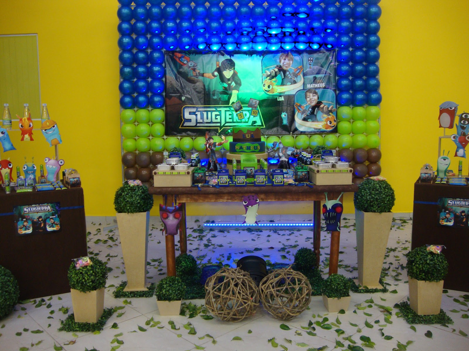 1000 images about slug terra party ideas on pinterest - Decoraciones de pisos ...