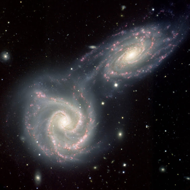 Gemini South shoots Twin Galaxies NGC 5426-27 aka Arp 271