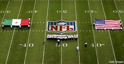 México se convierte en el país con más aficionados a la NFL fuera de los Estados Unidos