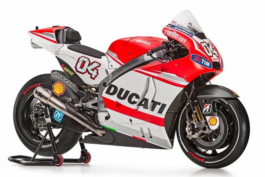 MotoGP : Ducati akan memperkenalkan Desmosedici GP15 hari Senin nanti . . .