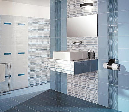 Bathroom modern bathroom tiles for Modern bathroom wall tile designs