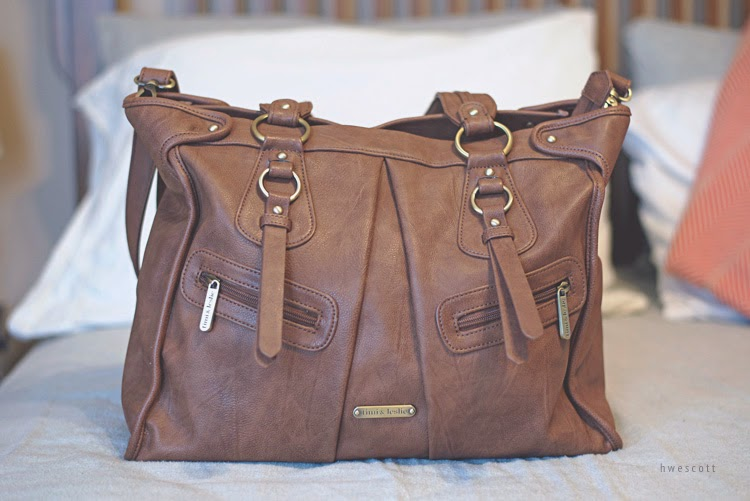 They Have A Good Selection To Choose From And I Decided On The Dawn 7 Piece Diaper Bag Set In Caramel Review