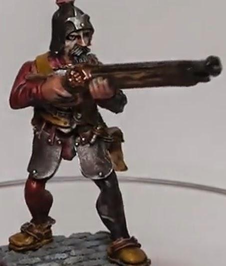 Cómo pintar un Arcabucero del Imperio