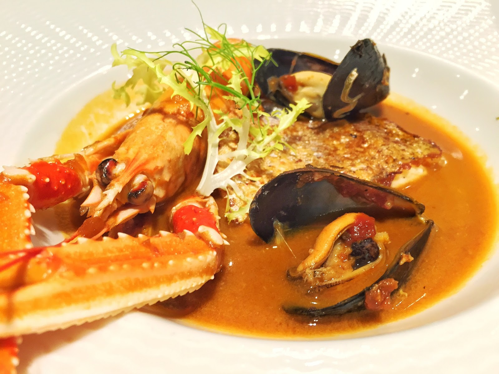 The Royal Mail Singapore - Seafood Bouillabaisse