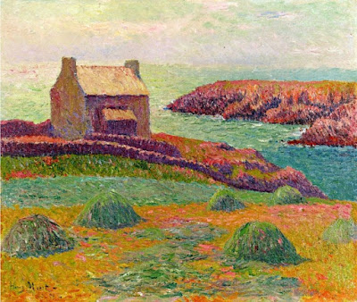 Henry Moret, House on a Hill