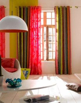 Linge de maison couvre lit en boutis nappe rideaux toute la d co bastide - La maison des rideaux ...