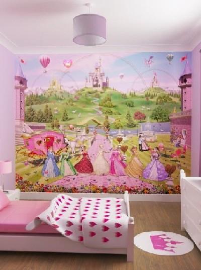 wallpaper murals for kids. Wallpaper Murals Princesses