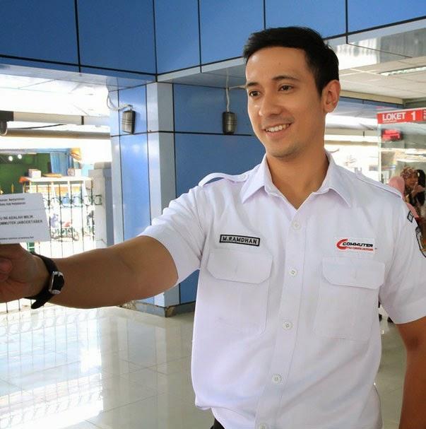 Yudi Ramdhan Petugas Commuterline