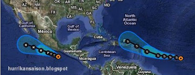 TAIFUN ROKE ist über Land, Tropischer Sturm OPHELIA parkt und Hurrikan HILARY kommt, Ophelia, Hilary, Roke, Video, Taifun Typhoon, Japan, Verlauf, Vorhersage Forecast Prognose, aktuell, September, 2011, Hurrikansaison 2011,
