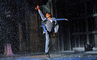 Adam Cooper in Singin' In The Rain at Chichester Festival Theatre