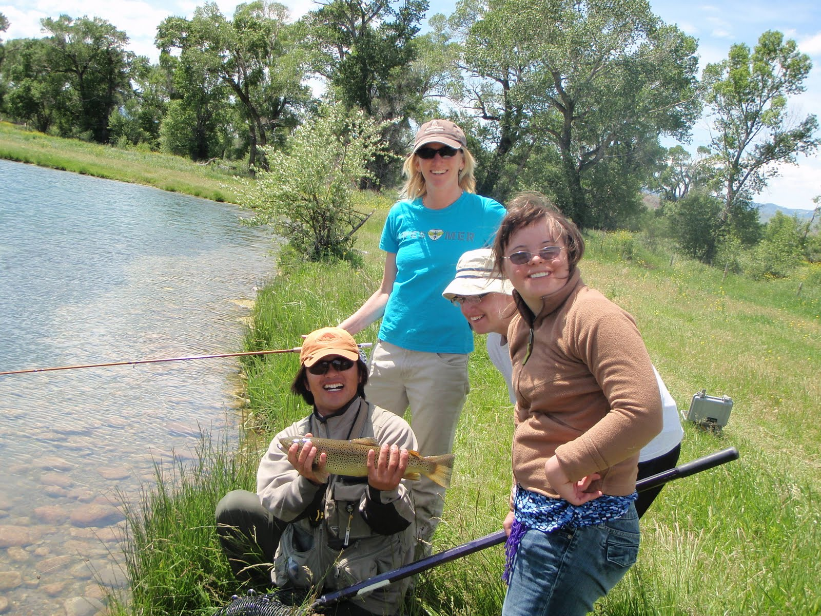 trout run spanish girl personals Fly fishing in spain: guided fly fishing trips for trout to pristine mountain rivers in  the spanish pyrenees 100% dry fly & spectacular scenery.