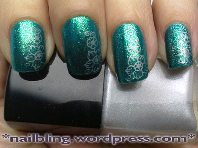 Orly Halleys Comet, MUA Shade 11, Konad m36