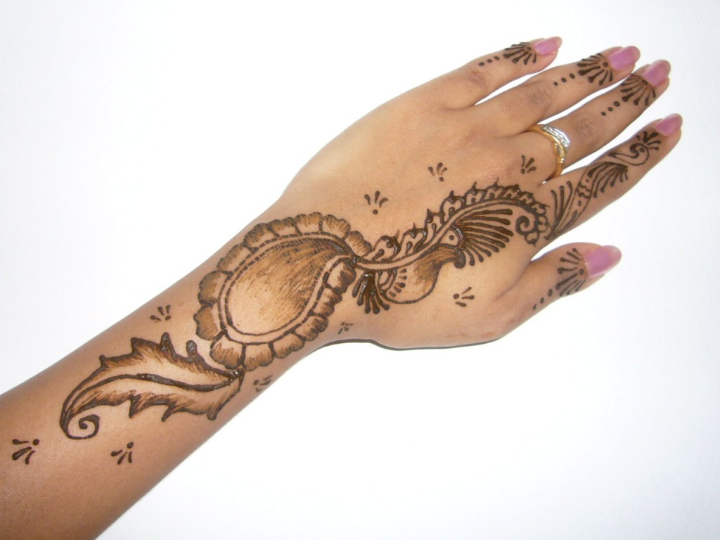 Flower Mehndi Designs For Back Hands : Best mehandi designs indian mehndi for women s