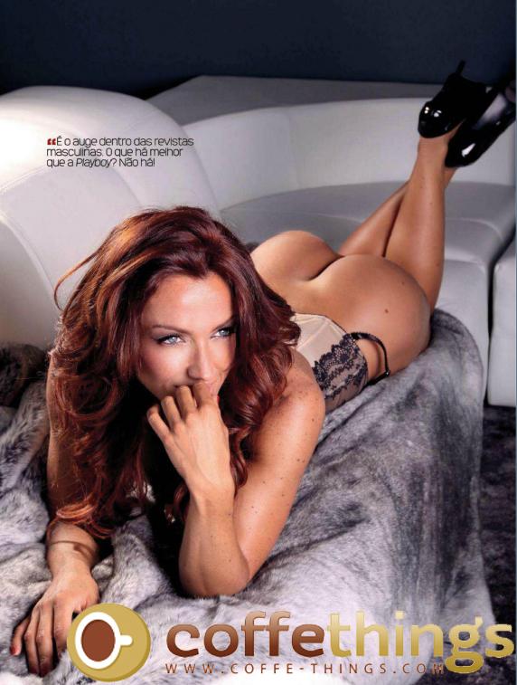 Raquel Henriques na Playboy de Novembro