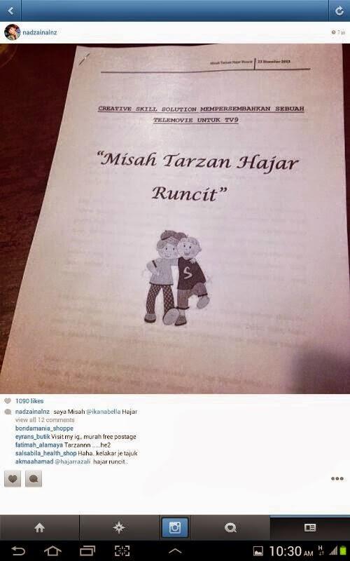 Misah Tarzan Hajar Runcit