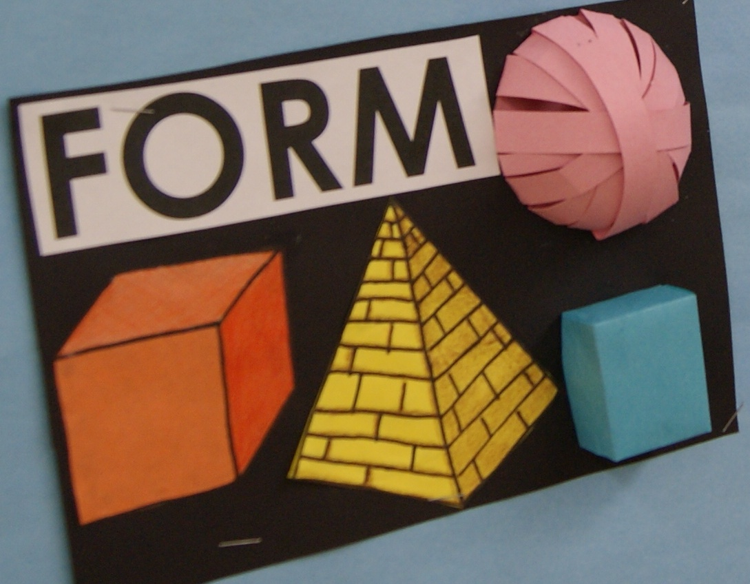 Elements Of Art Form : Adventures in middle school art class intro to the