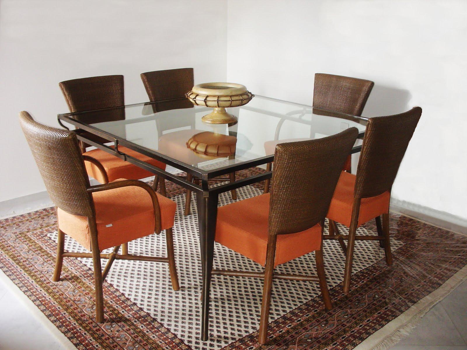 Tamanho De Tapete Sala De Jantar ~ Tapete na sala de jantar deve abrigar todas as cadeiras, mesmo quando
