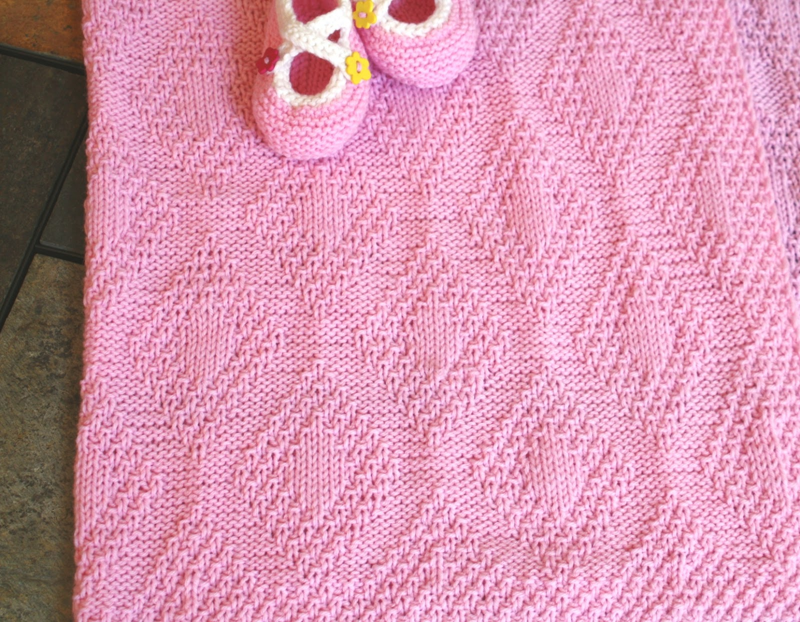 All Knitted Lace: Pattern Release: Forever Diamonds Baby ...