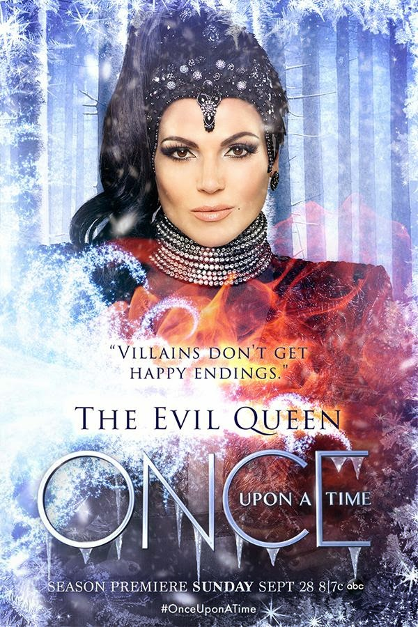 Once Upon a Time - Season 4 - The Evil Queen - Character Poster