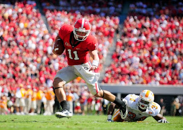 Aaron Murray, as a freshman