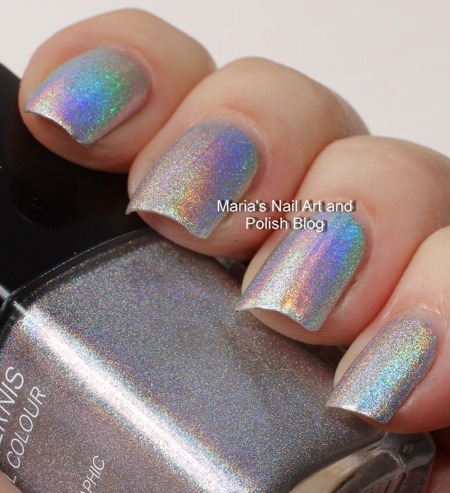 Marias Nail Art And Polish Blog: Silver Holographic Polish