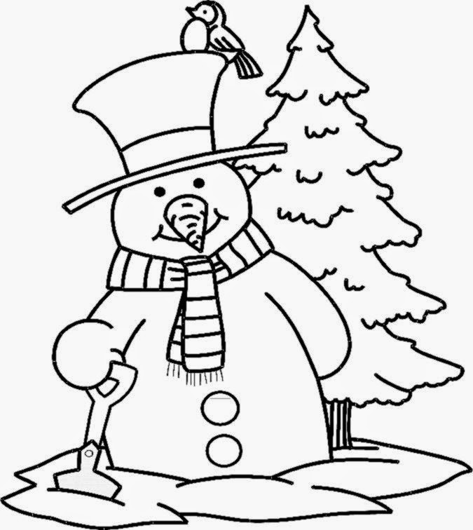 snowman coloring pages crayola back - photo#17