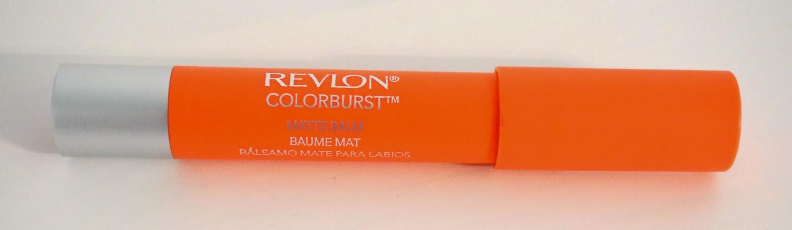 A picture of revlon colorburst matte balm in 235 mischievous