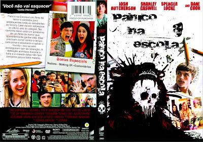 Pânico na Escola DVD Capa