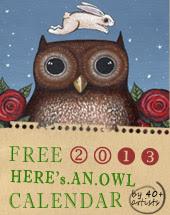 Owl Lover 2013 Calendar