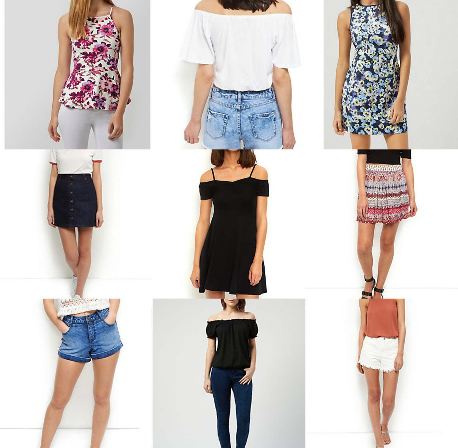 Summer New Look Wishlist