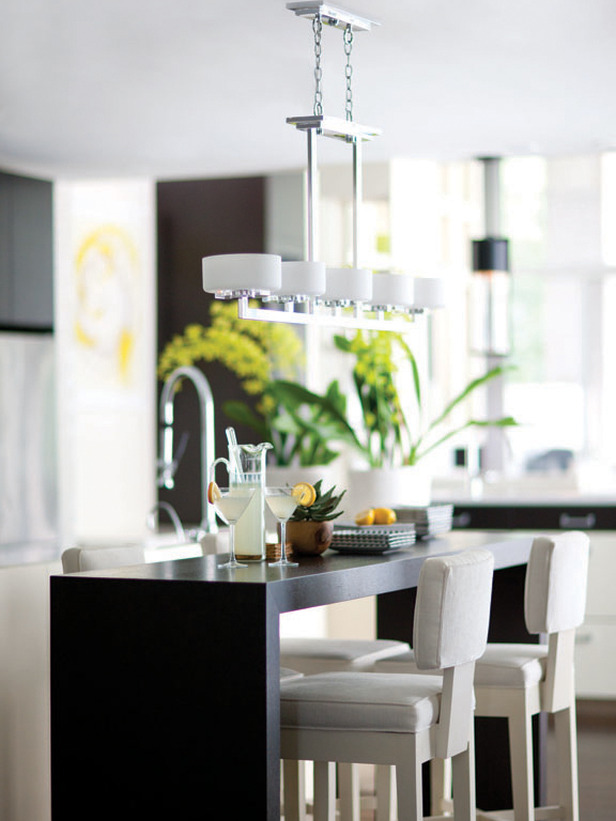 modern furniture kitchen lighting design ideas from hgtv