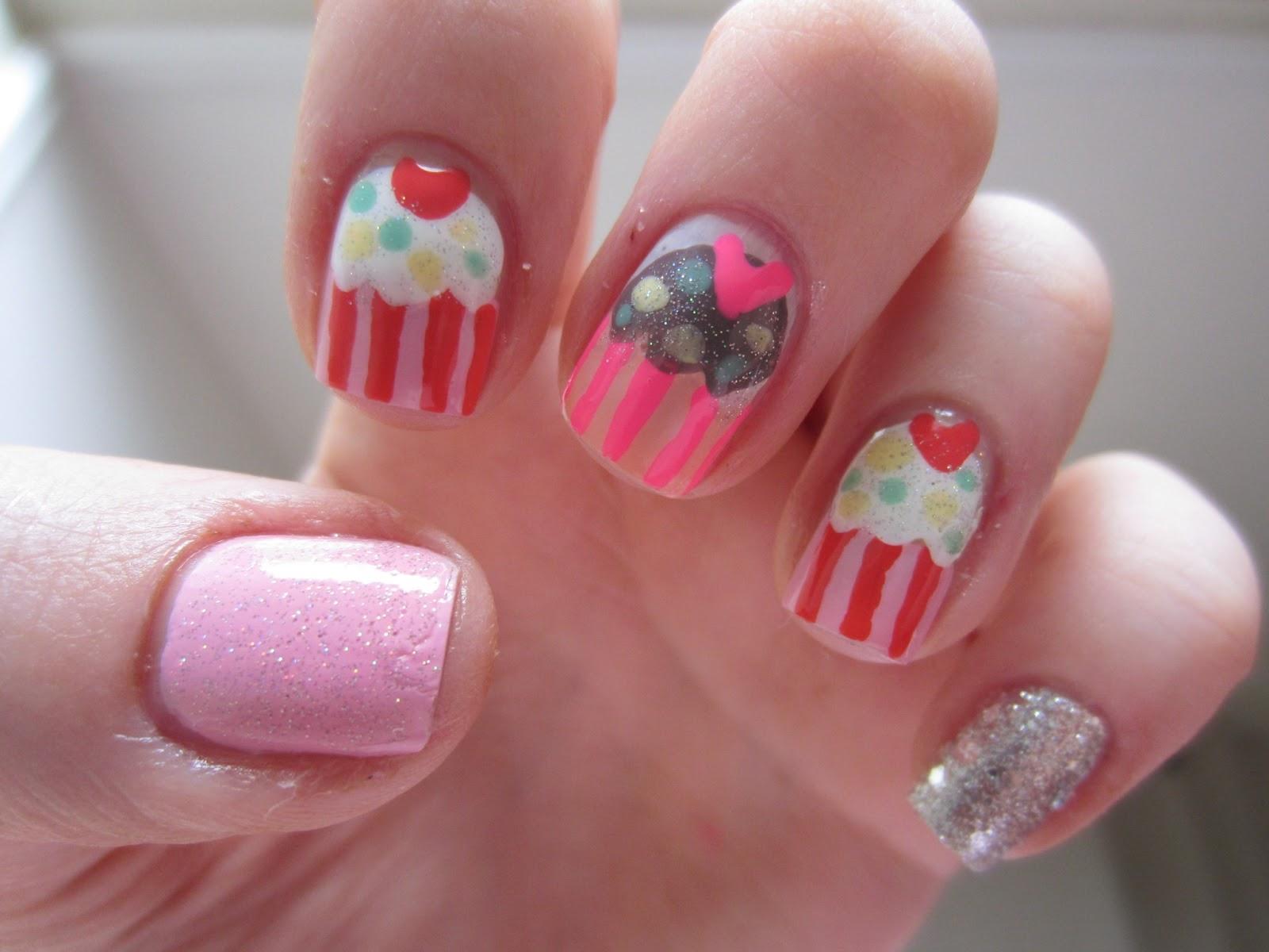 Nail art dotting tool on my other nails nailartdesignsidea info via