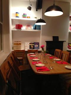 La Cuina dining room