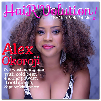 ALEX OKOROJI - I'VE WASHED MY HAIR WITH COLD BEER, DUSTING POWDER, TOOTHPASTE & PUMPKIN LEAVES.