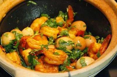 Vietnamese Food - Tôm Kho Trứng Cút