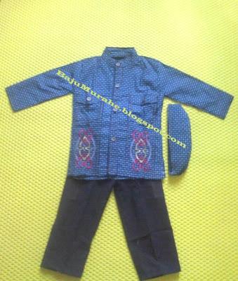 baju muslim anak laki-laki 2 tahun