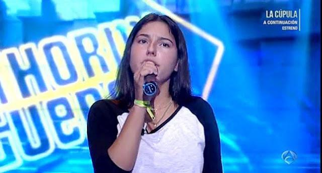 Cantante el hormiguero Alejandra de Gregorio