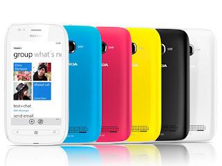Nokia Lumia 710 all Varian