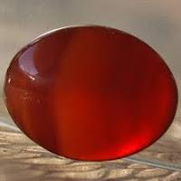 Batu Akik Ginggang Merah