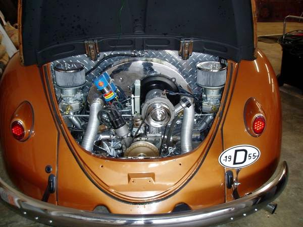 Vw Beetle Oval Back Engine
