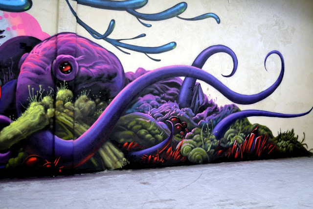 Street Art Collaboration By Jeff Soto And Maxx242 For Goodbye Monopol 2 In Luxembourg City. 8