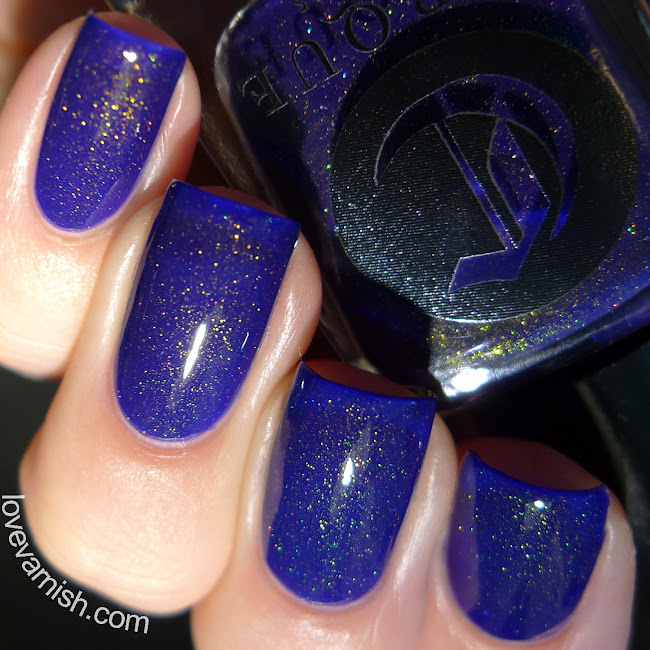 Cirque Colors Coven All Holo's Eve Collaboration Trio
