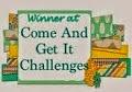 I won Sept 2014