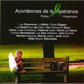 cd Acordeones de la esperanza Acordiones