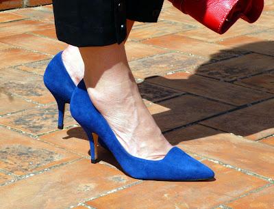 foto detalle zapatos de Marisa Rey
