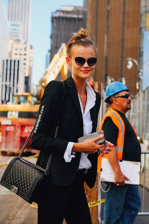 Kate Grigorieva in New York