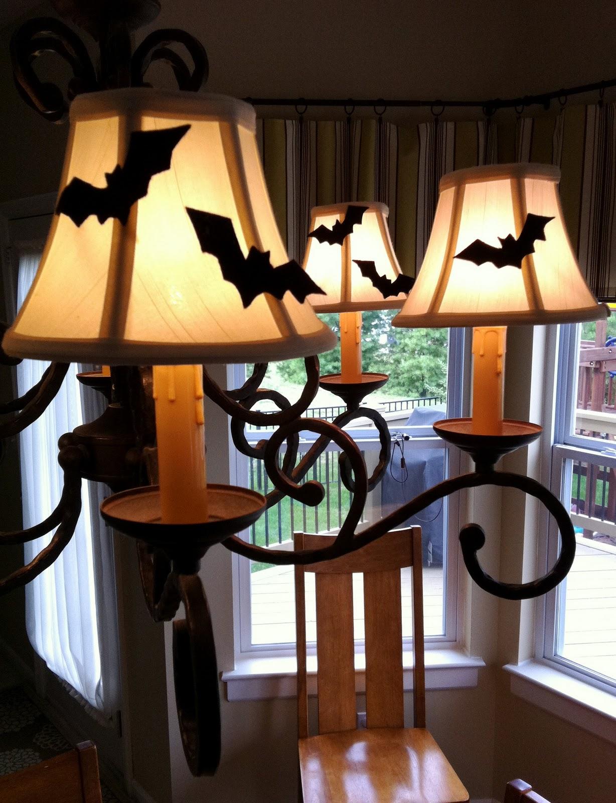 Spooky Halloween Lamp Shades   Charisa Darling